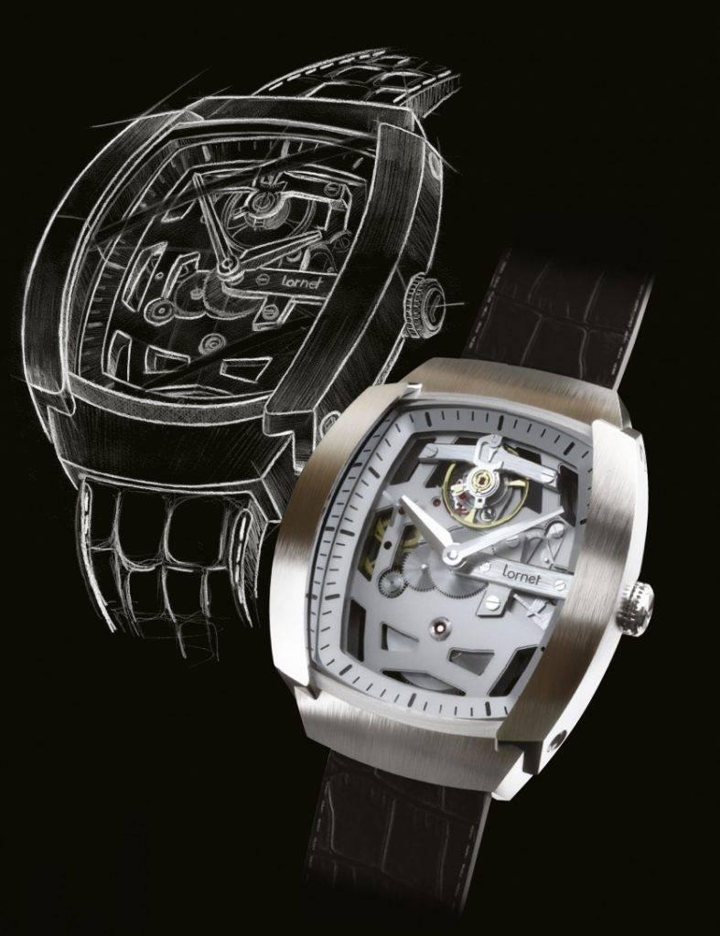 Après près de deux ans de travail, Lornet présente son premier modèle : LA-01. Une montre de haute qualité imaginée, développée et fabriquée en France.