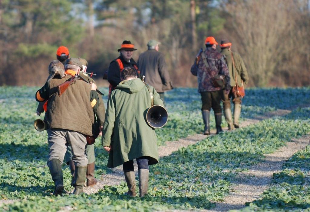 Retour de chasse. Aujourd'hui, la France compte 1,2 million de chasseurs.