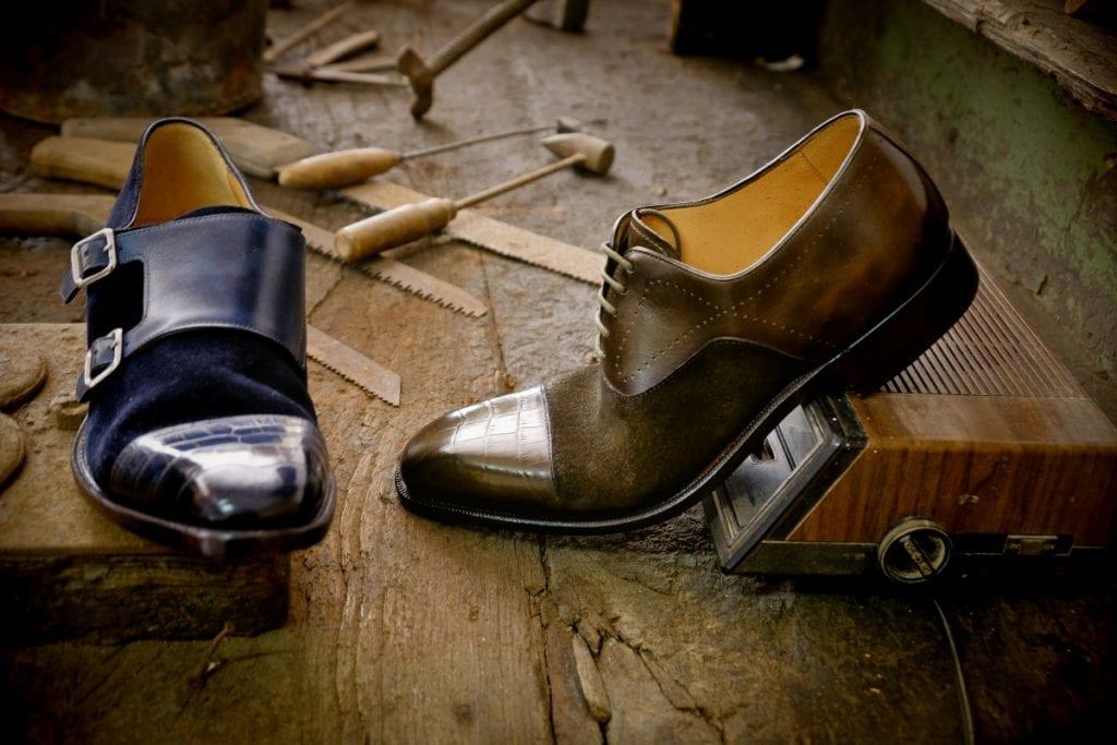 Plus de 90 ouvriers s'affairent dans la manufacture Zarco située au nord de Porto et à l'origine des souliers Carlos Santos.