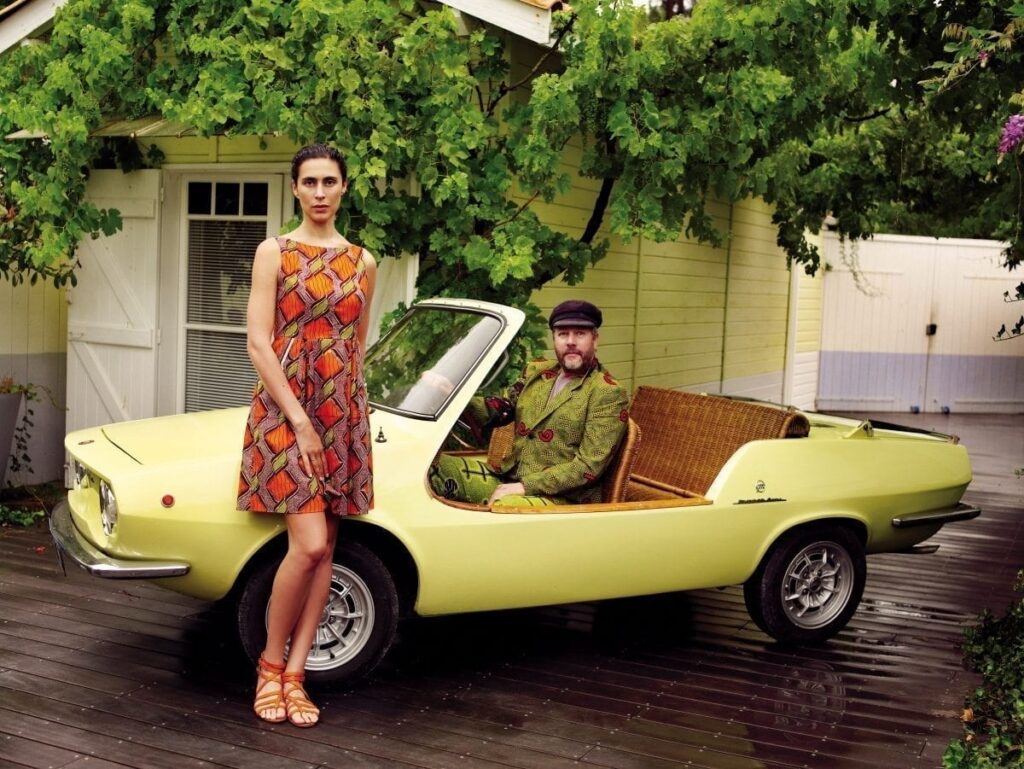 La joyeuse Fiat Shelette (1972) de Philippe Starck s'est vendue à 41 700 €.