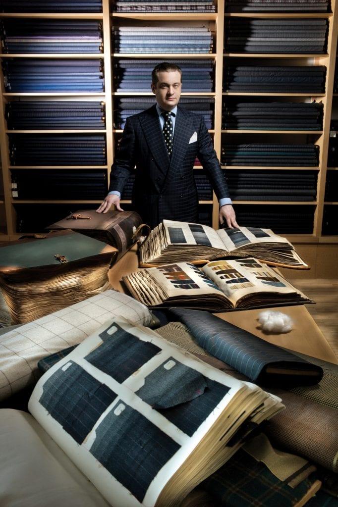 Le directeur de création, Francesco Vitale Barberis Canonico, 13e de la génération (quand même).