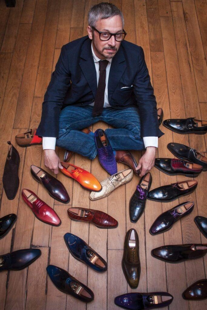 Pierre Corthay a su rendre le soulier « sympathique ».