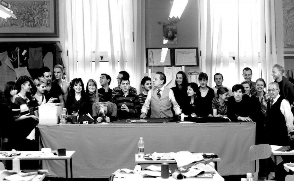 L'école supérieure de couture Nazareno Fonticoli créée par Brioni.