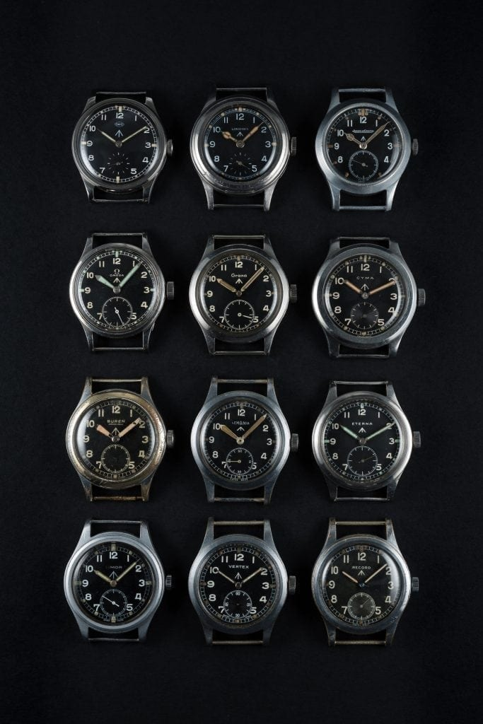 La collection impossible ? Les 12 montres d'origine, des 12 marques, réunies le temps d'une photo.