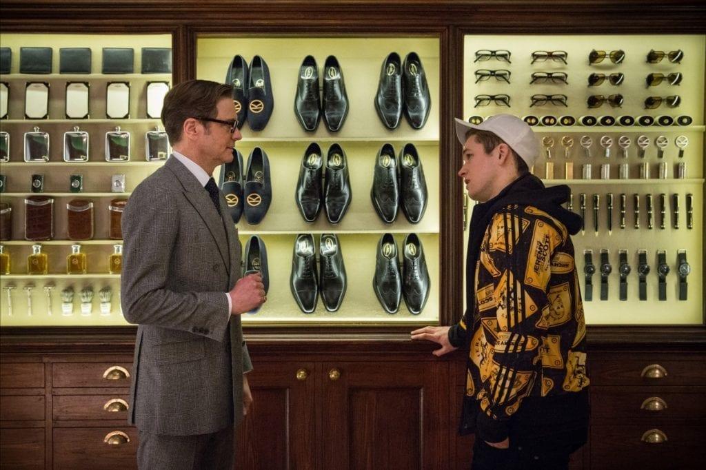 Leçon de style entre agents secrets chez Huntsman dans le film Kingsman.