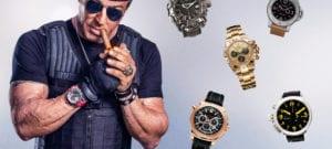 Les montres de Sylvester Stallone