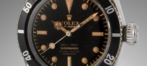 UN DEMI-MILLION POUR UNE ROLEX « JAMES BOND »