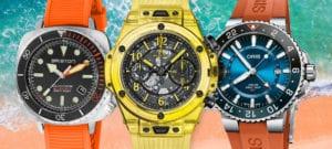 Les montres à l'heure de l'été