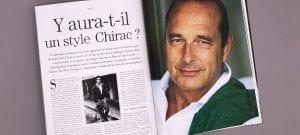 Les Archives de Monsieur : Y aura-t-il un style Chirac ?
