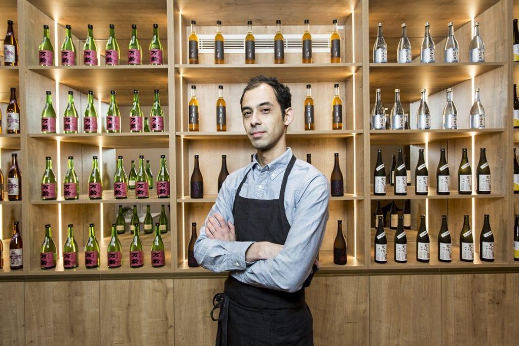 Youlin Ly, fondateur de la Maison du Saké.