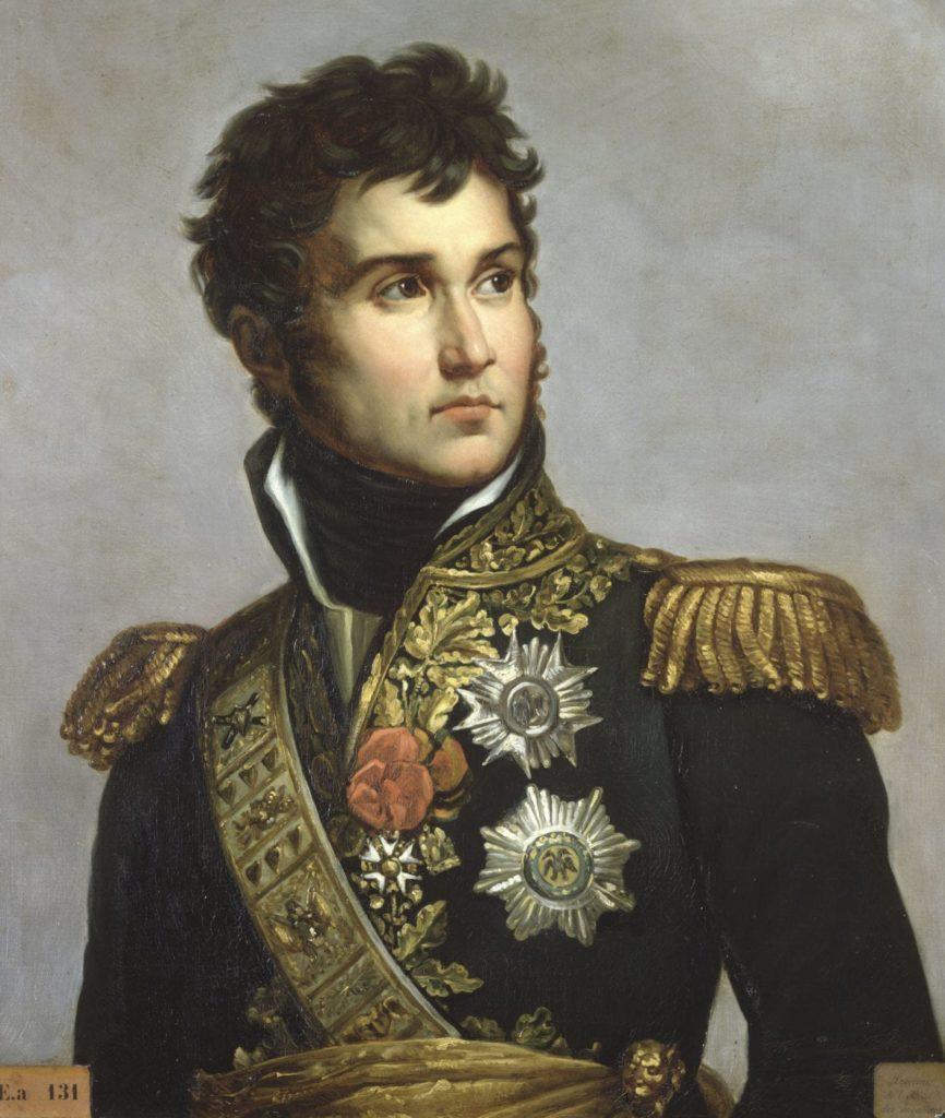 Baudrier, épaulettes, ceinture-écharpe, décorations, broderies… Le maréchal Lannes « l'un des militaires les plus distingués qu'a eus la France », d'après Napoléon. Ici, peint par Antoine-François Gérard (circa 1804). ©PARIS - MUSÉE DE L'ARMÉE, DIST. RMN-GRAND PALAIS / IMAGE MUSÉE DE L'ARMÉE