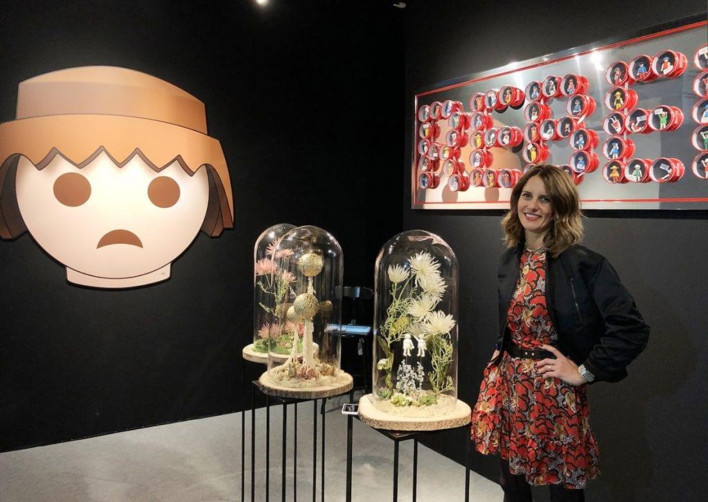 Charlotte Schneider à Art Élysées Paris, Pavillon E 524.