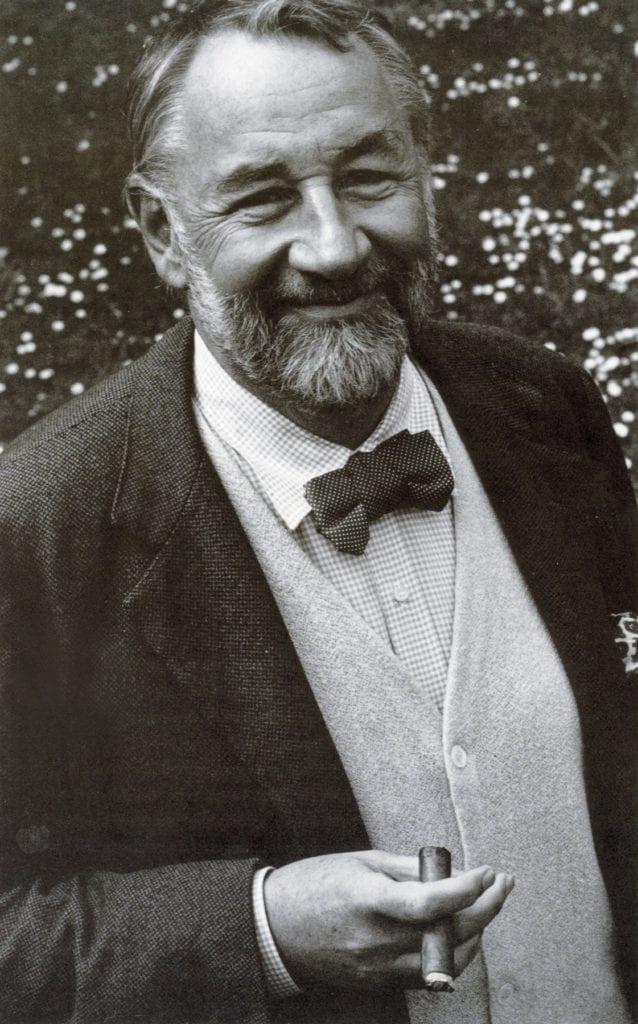 Philippe Noiret, un fervant défenseur du noeud papillon.