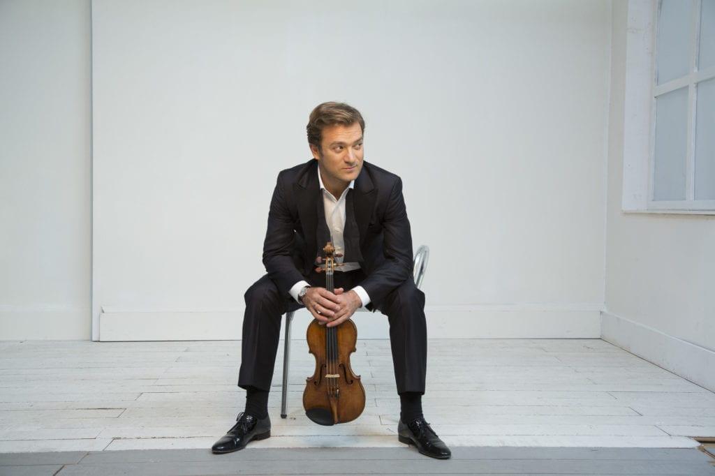 Renaud Capuçon, un musicien moins classique qu'il n'y paraît. (Photo Simon Fowler)