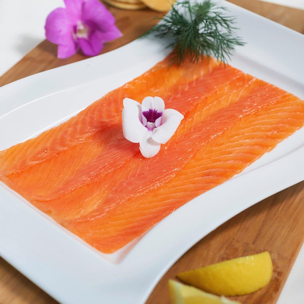 Coeur de saumon fumé Ecossais Royal