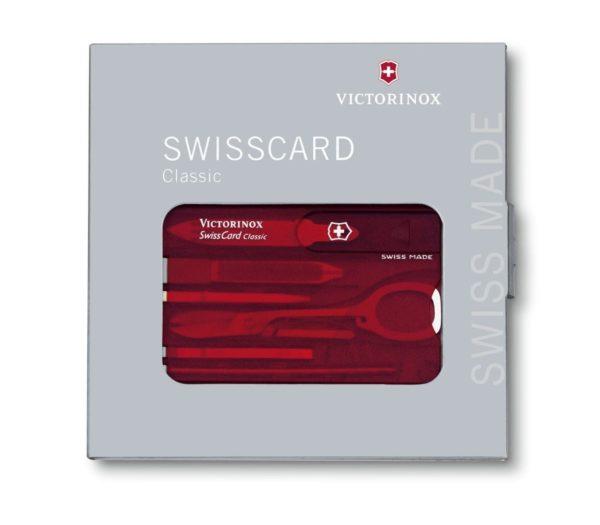 pochette swisscard 10 outils victorinox