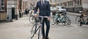 Aller au bureau à vélo