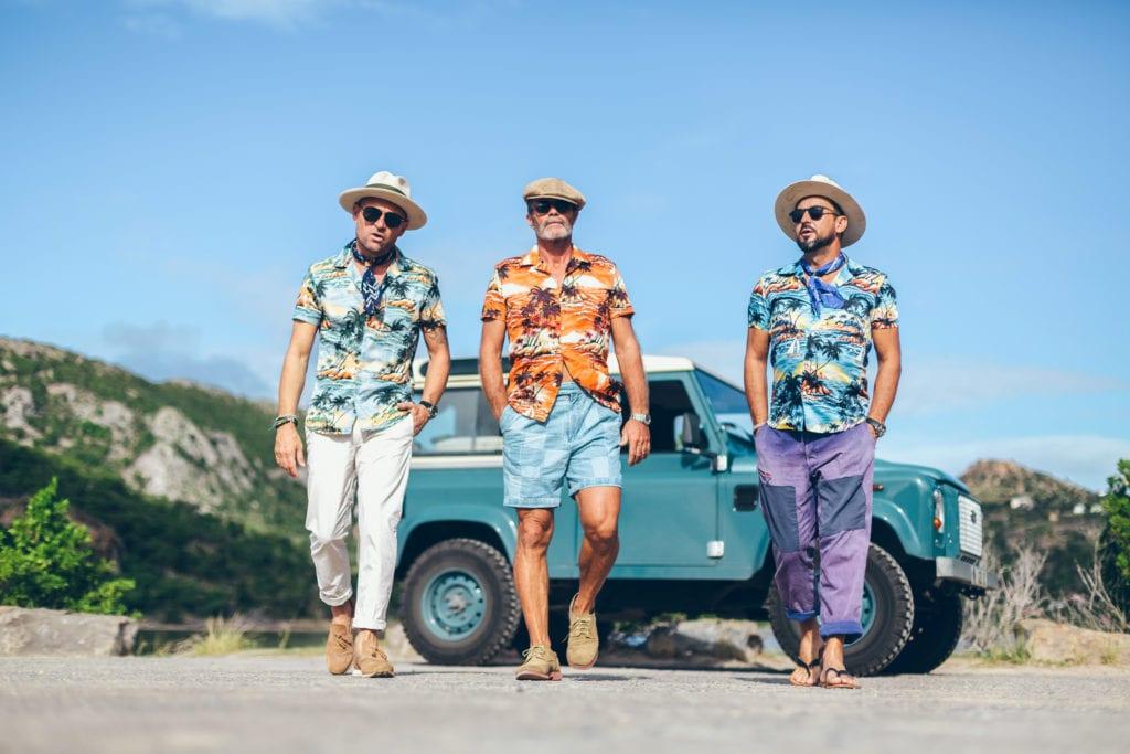 Véritable chemise hawaïenne, made in Hawaï, avec boutons en coco vintage. ©(l'égoïste)