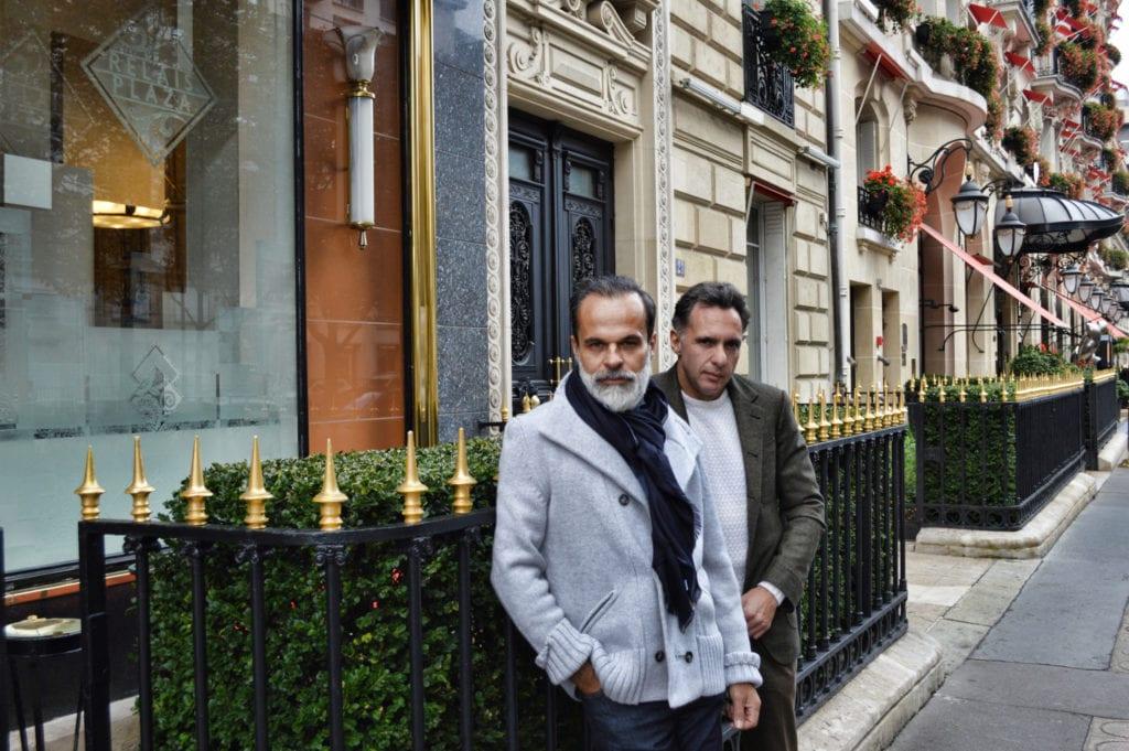 Lorenzo et Massimo Cifonelli sont fiers de l'accueil que Savile Row a réservé à leur travail et à leur nouvelle boutique. ©Cifonelli