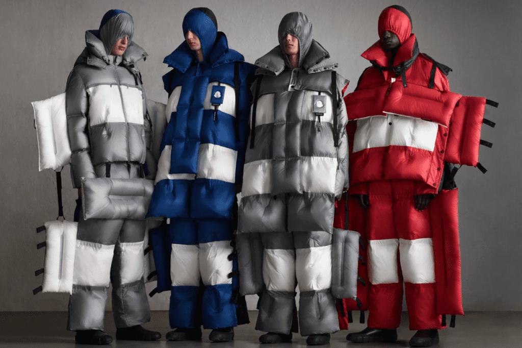 Même la mode pointue s'empare du phénomène. Exemple avec Moncler et cet esprit « sac de couchage » du designer Craig Green. ©Moncler