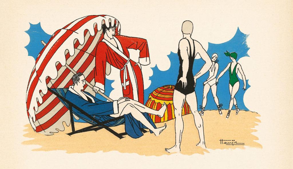 Archives Monsieur 1920. Illustration Hemjic.