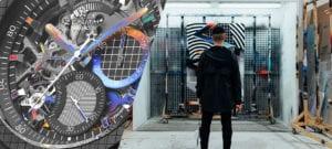 Zenith pousse les limites de la création horlogère avec l'artiste Felipe Pantone